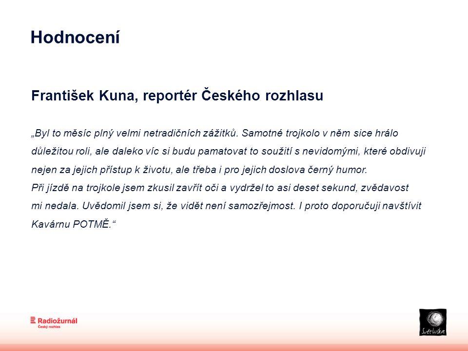 """František Kuna, reportér Českého rozhlasu """"Byl to měsíc plný velmi netradičních zážitků."""