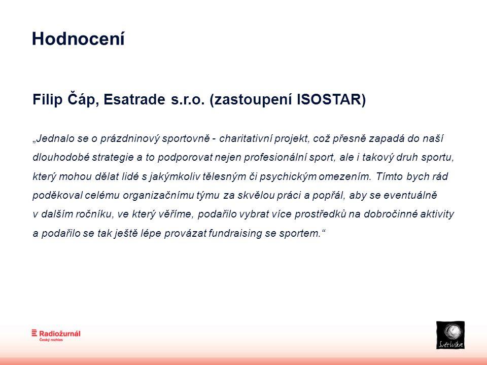 Hodnocení Filip Čáp, Esatrade s.r.o.