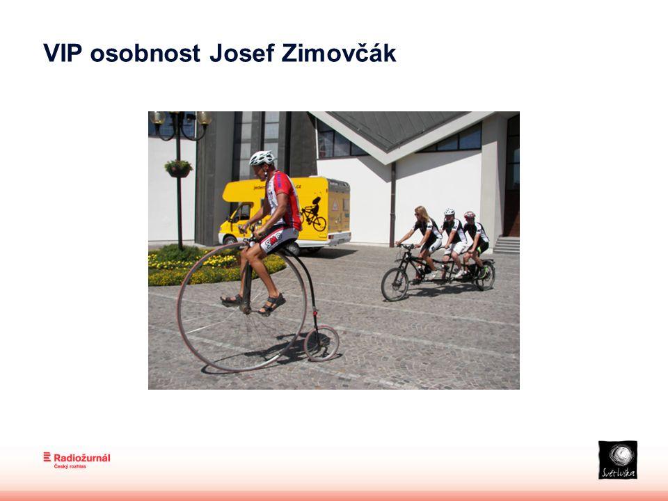 VIP osobnost Josef Zimovčák