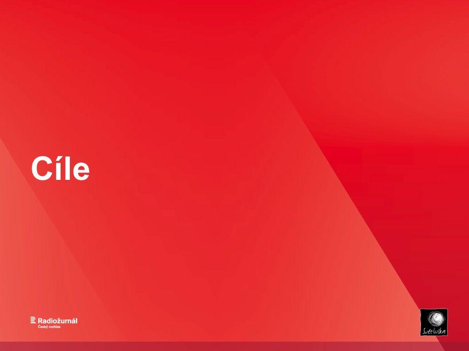 Cíl projektu - Propagace značky NF Českého rozhlasu Světluška - Propagace cyklistiky - Zajímavé obsahy do vysílání (putování po Česku) - Výběr prostředků na podporu sportovních aktivit pro nevidomé