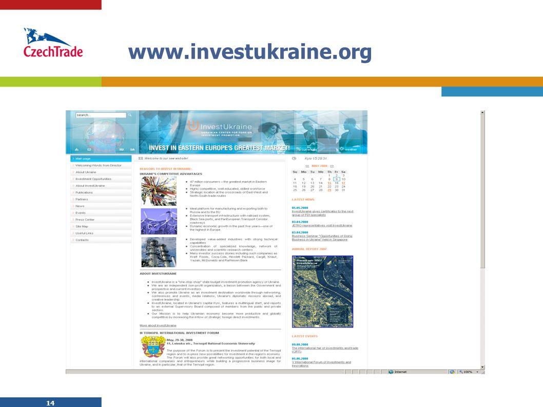 14 www.investukraine.org