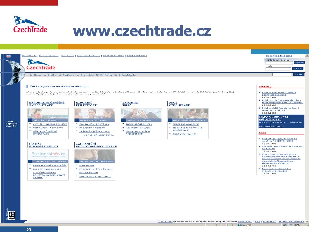 20 www.czechtrade.cz