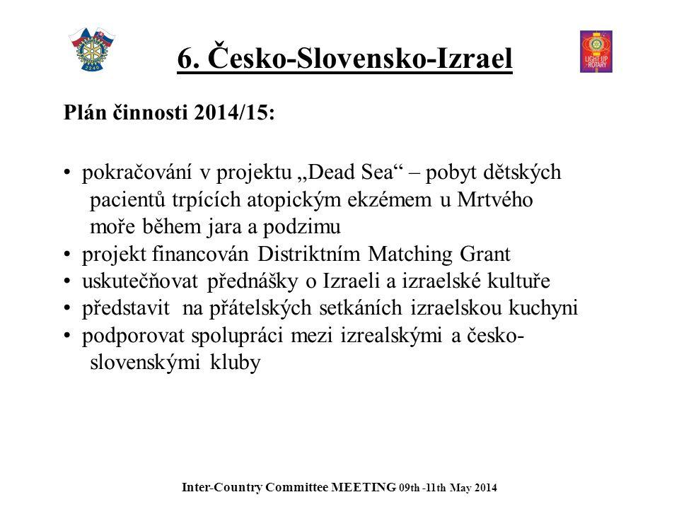 7.Slovensko-Česko-Maďarsko Plán činnosti 2014/15: Continue organizing and participating on 5.