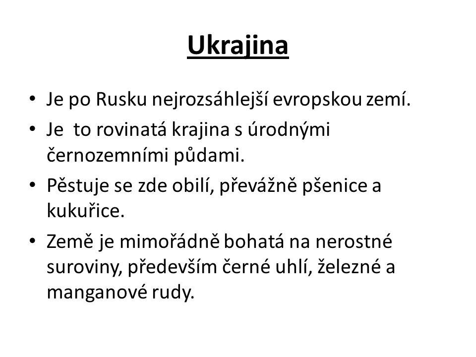 Ukrajina mapa