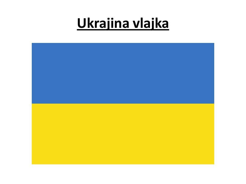 Ukrajina vlajka