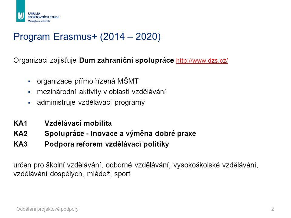 Zapojené země Země programu Zúčastněné organizace (žadatelé a partneři) v projektech Erasmus+ musí mít sídlo v jedné z následujících zemí programu.