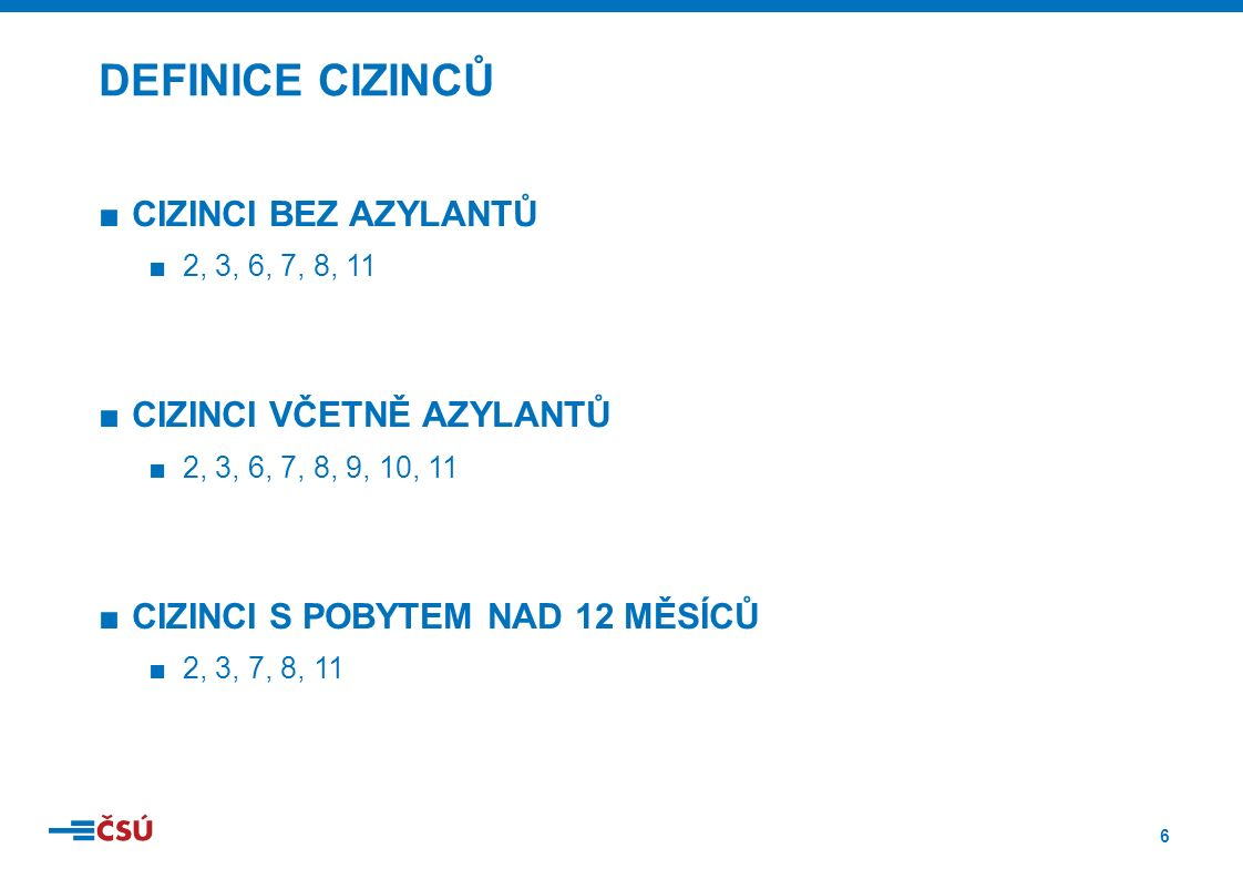 7 POČET CIZINCŮ V ČR