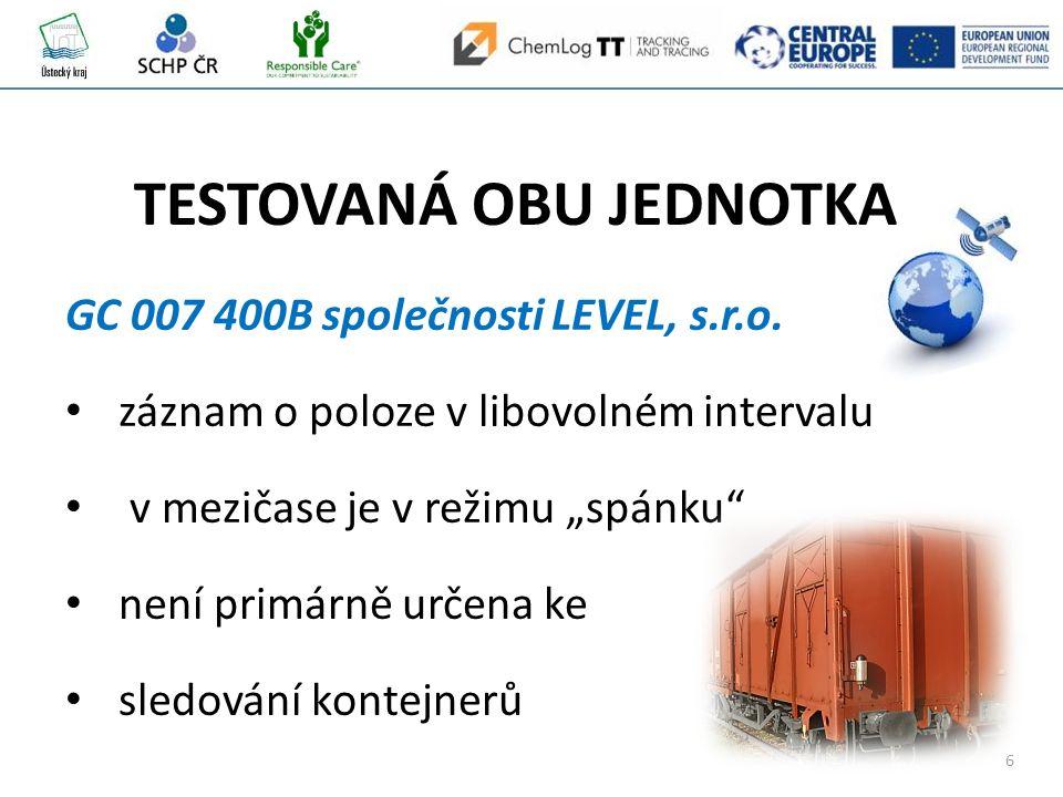 6 GC 007 400B společnosti LEVEL, s.r.o.