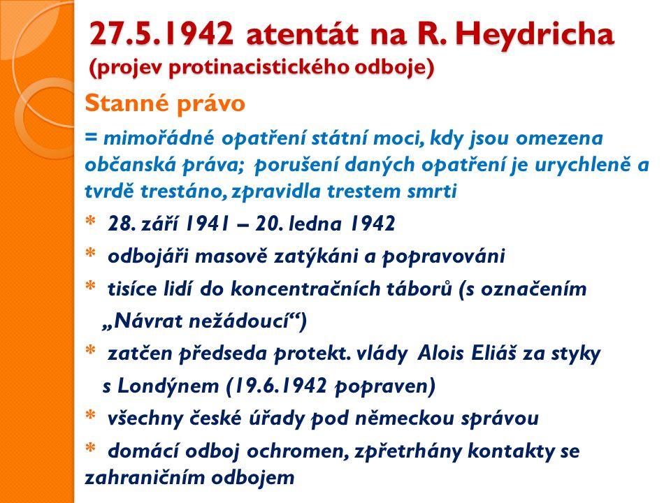 27.5.1942 atentát na R.