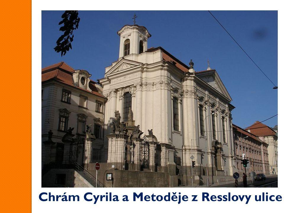 Chrám Cyrila a Metoděje z Resslovy ulice