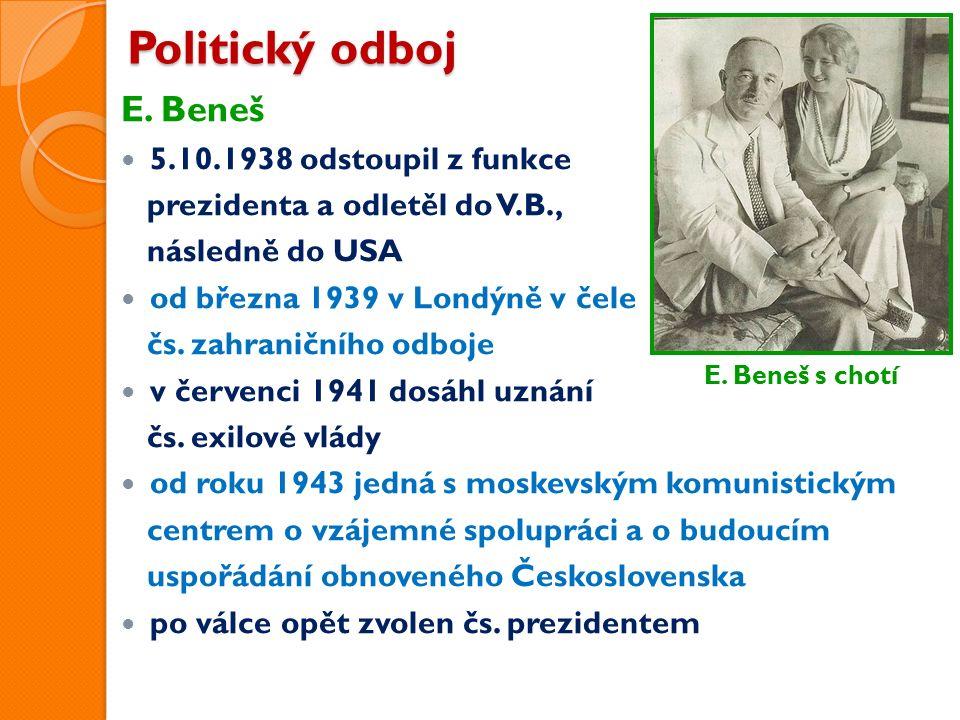 Politický odboj E.