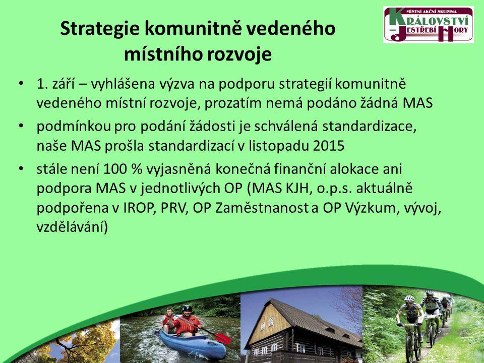 Strategie komunitně vedeného místního rozvoje 1.