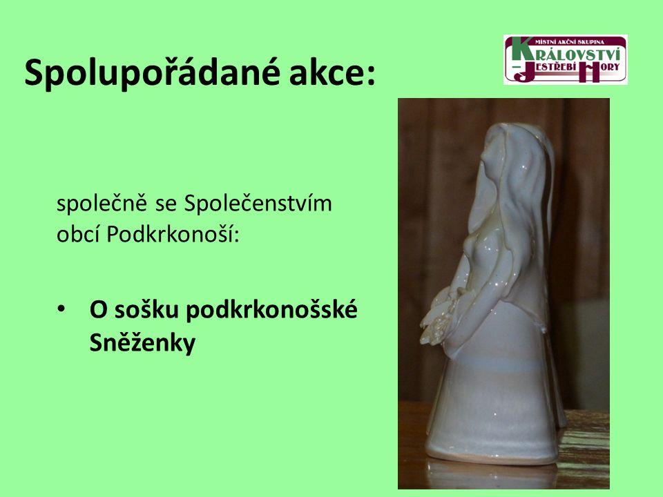 Spolupořádané akce: společně se Společenstvím obcí Podkrkonoší: O sošku podkrkonošské Sněženky