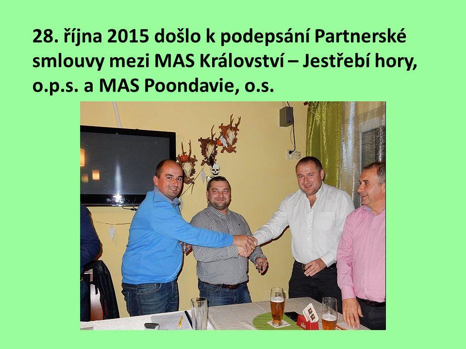 28. října 2015 došlo k podepsání Partnerské smlouvy mezi MAS Království – Jestřebí hory, o.p.s.