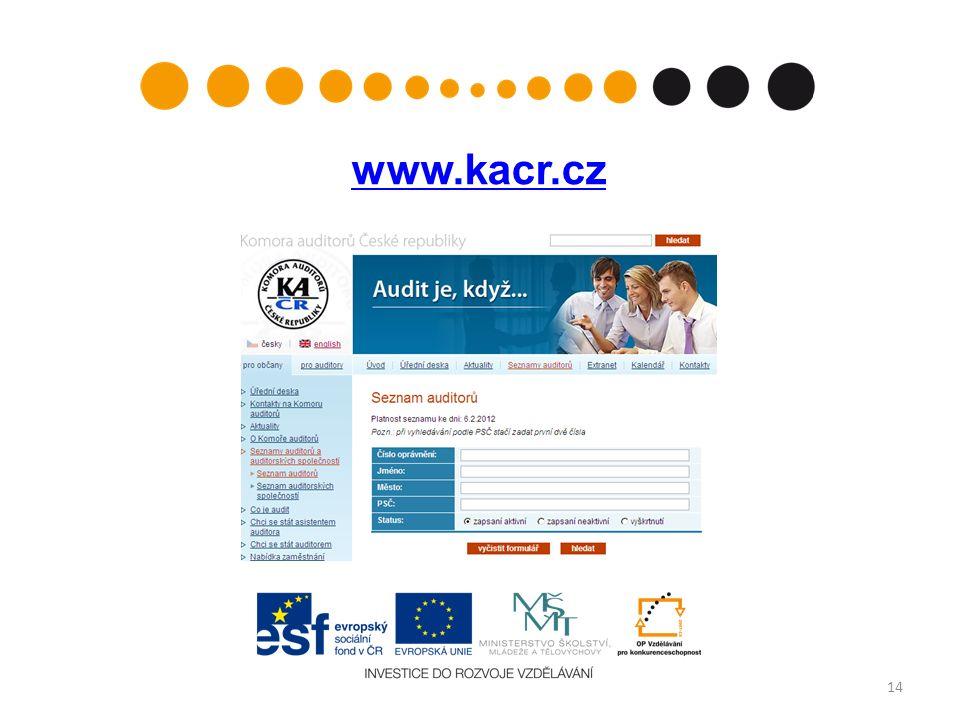 www.kacr.cz 14