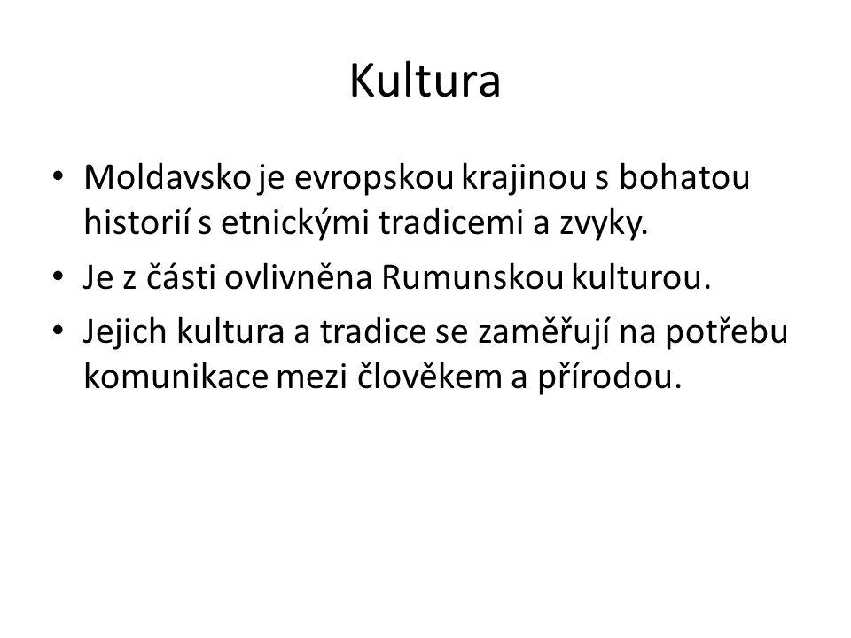 Kultura Moldavsko je evropskou krajinou s bohatou historií s etnickými tradicemi a zvyky.