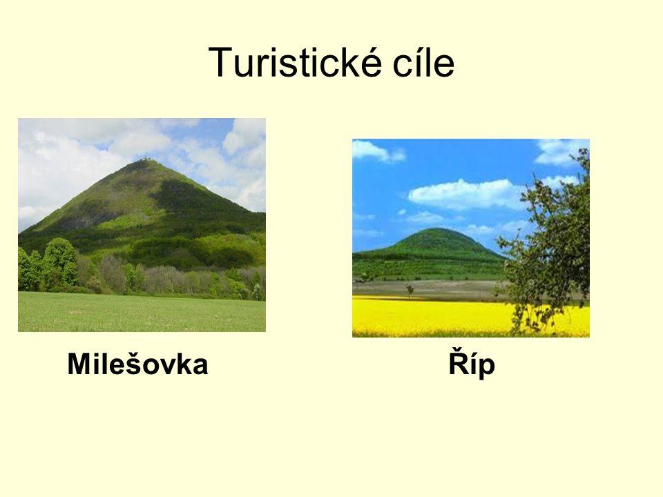 Turistické cíle MilešovkaŘíp