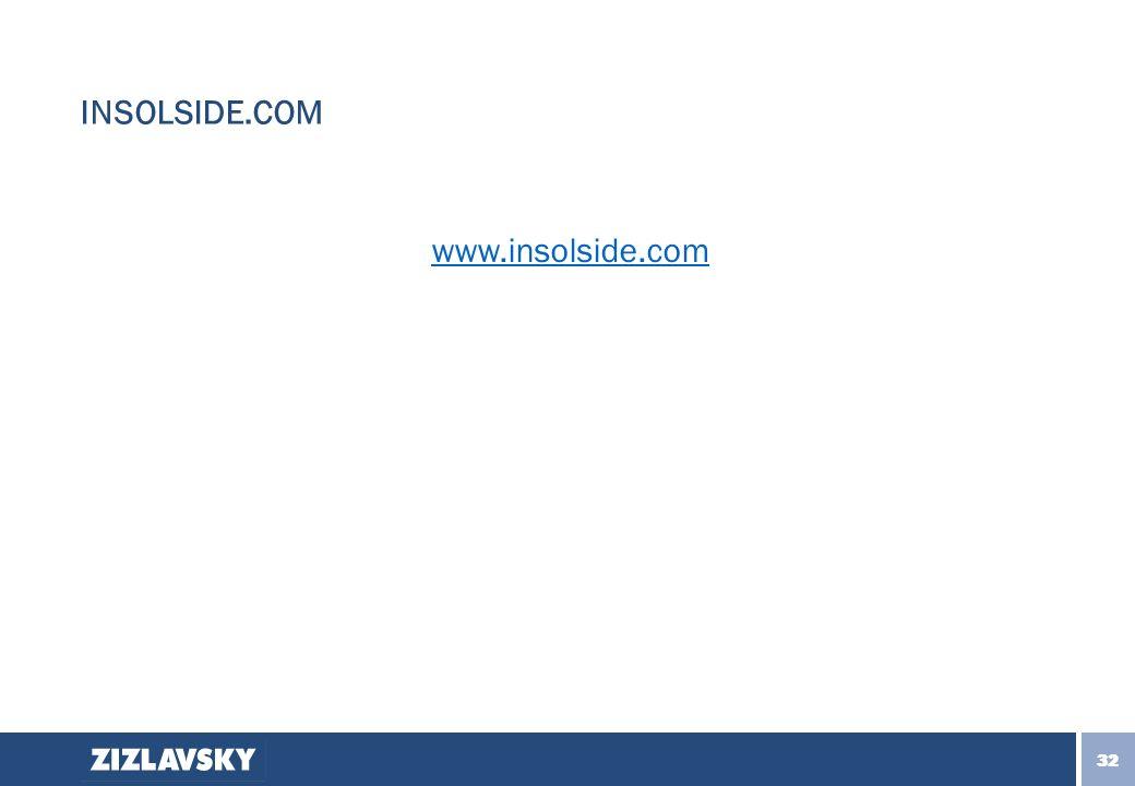 33 32 INSOLSIDE.COM www.insolside.com