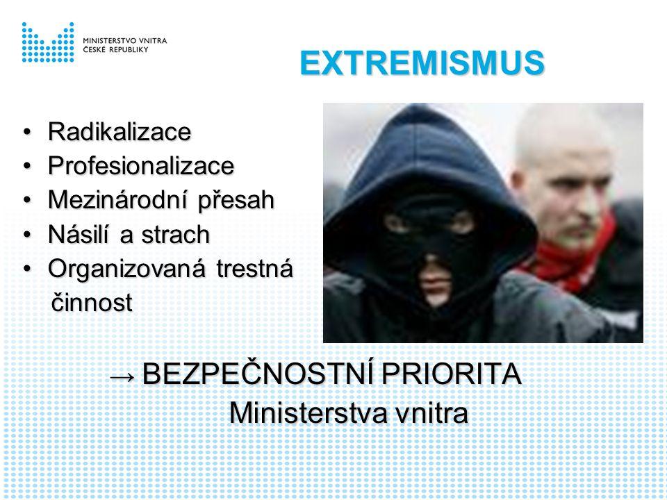 NAPLŇOVÁNÍ STRATEGIE BOJE PROTI EXTREMISMU Task ForceTask Force Právo shromažďovací a extremistické akcePrávo shromažďovací a extremistické akce Výzkumné akceVýzkumné akce Zneužívání internetuZneužívání internetu Vzdělávání policie a justiceVzdělávání policie a justice Zlepšení organizace práce policieZlepšení organizace práce policie Policejní metodikaPolicejní metodika Infiltrace extremistů od bezpečnostních složekInfiltrace extremistů od bezpečnostních složek PrevencePrevence Aktualizovaná strategieAktualizovaná strategie
