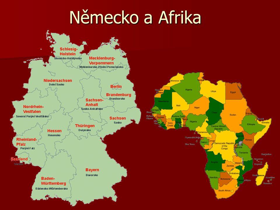 Německo a Afrika