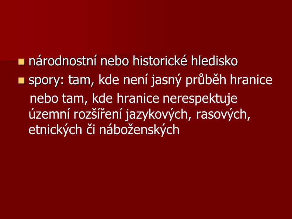 Závěrečné opakování 1.Jaký typ hranic má převážně Česká republika.