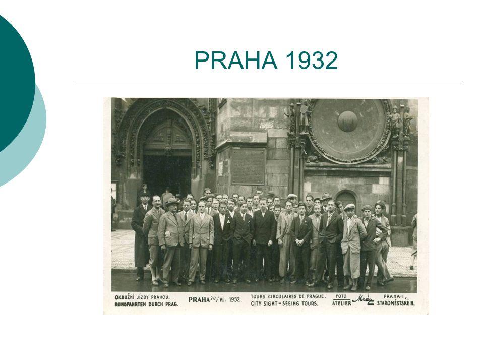 PRAHA 1932