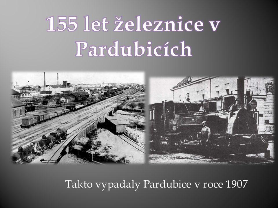 Takto vypadaly Pardubice v roce 1907