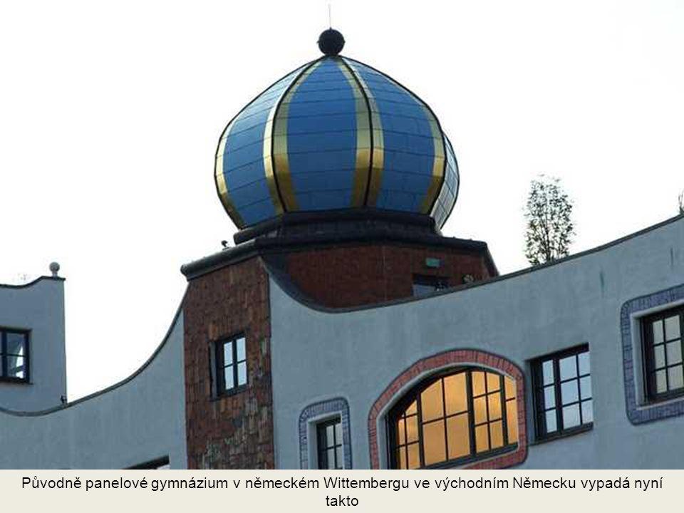 Renomé odstraňovače architektonické šedi uplatnil Hundentwasser například i při této přestavbě