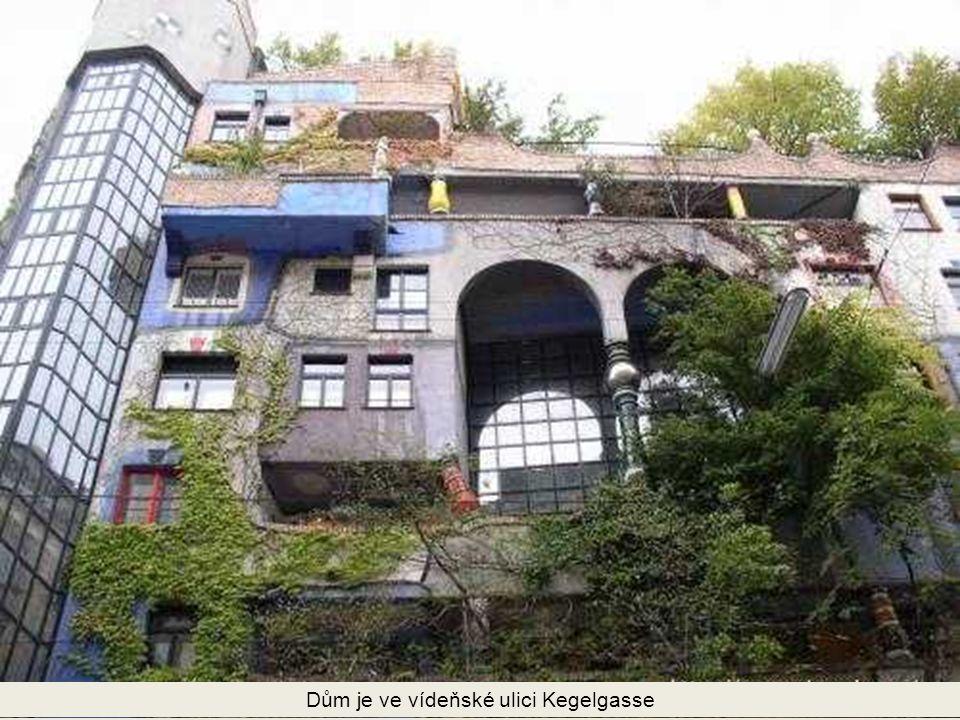 Dům je ve vídeňské ulici Kegelgasse
