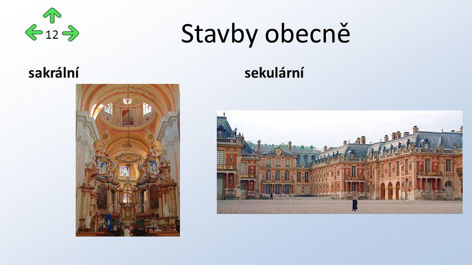 Stavby obecně sakrálnísekulární 12
