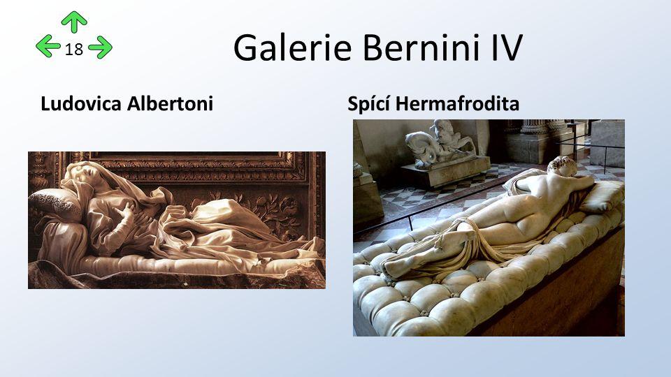 Galerie Bernini IV Ludovica AlbertoniSpící Hermafrodita 18