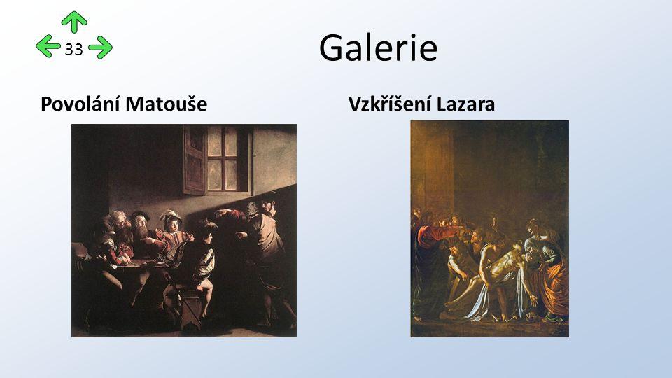 Galerie Povolání MatoušeVzkříšení Lazara 33