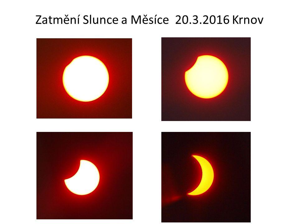Zatmění Slunce a Měsíce 20.3.2016 Krnov