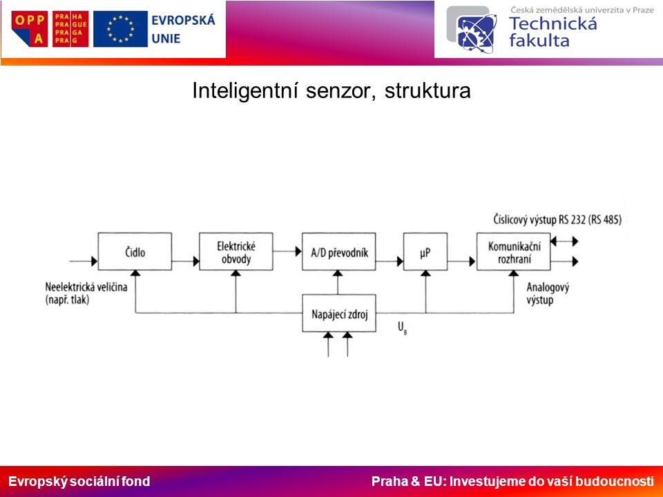 Evropský sociální fond Praha & EU: Investujeme do vaší budoucnosti Inteligentní senzor, struktura
