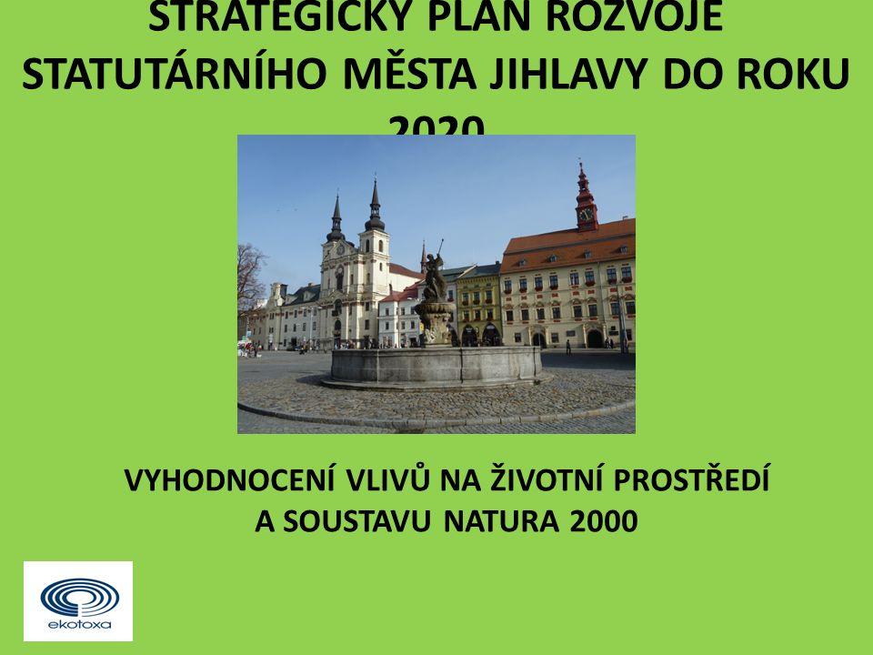 """Závěr """"Strategický plán rozvoje statutárního města Jihlavy do roku 2020 : nebude mít významně negativní vliv na životní prostředí a veřejné zdraví."""