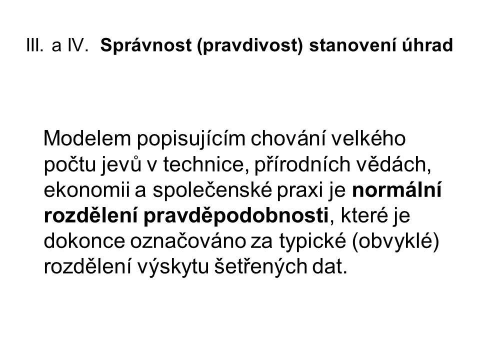 III. a IV.