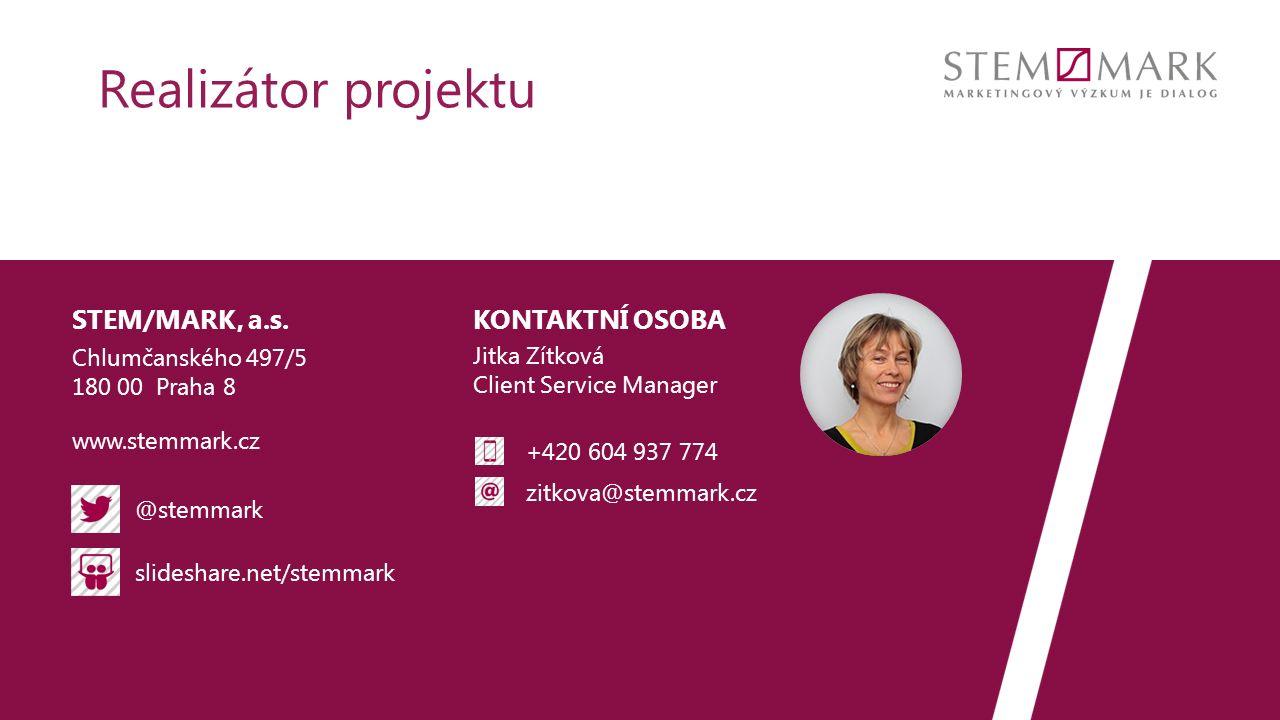 KONTAKTNÍ OSOBA @stemmark slideshare.net/stemmark www.stemmark.cz STEM/MARK, a.s.