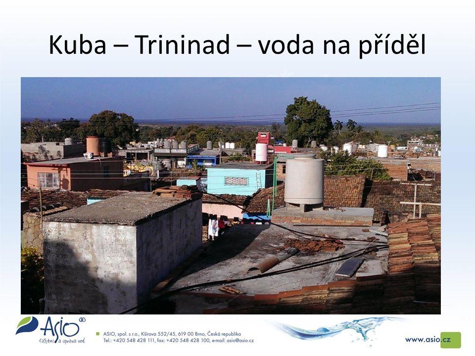 Kuba – Trininad – voda na příděl