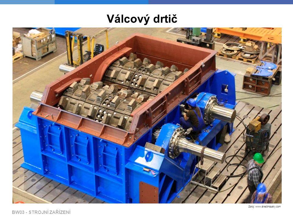 BW03 - STROJNÍ ZAŘÍZENÍ Zdroj: www.directindustry.com Válcový drtič