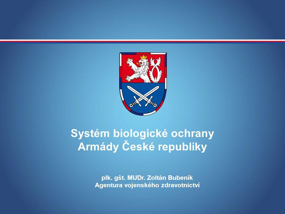 MINISTERSTVO OBRANY ČR MOBILNÍ POLNÍ MIKROBIOLOGICKÁ LABORATOŘ 13