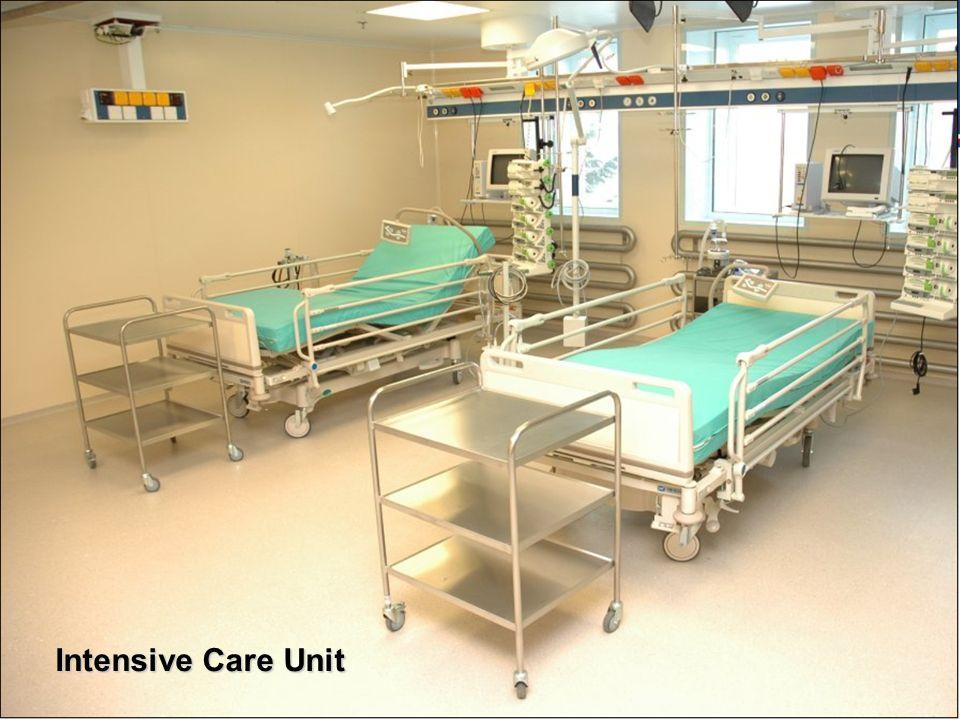MINISTERSTVO OBRANY ČR 1.9.2014 Intensive Care Unit
