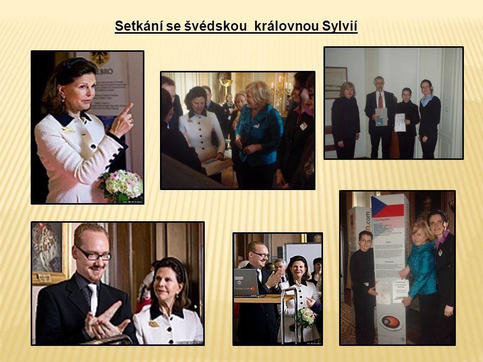 Setkání se švédskou královnou Sylvií