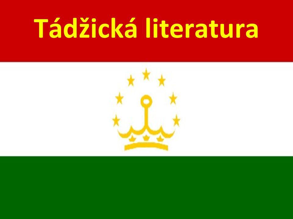 Tádžická literatura