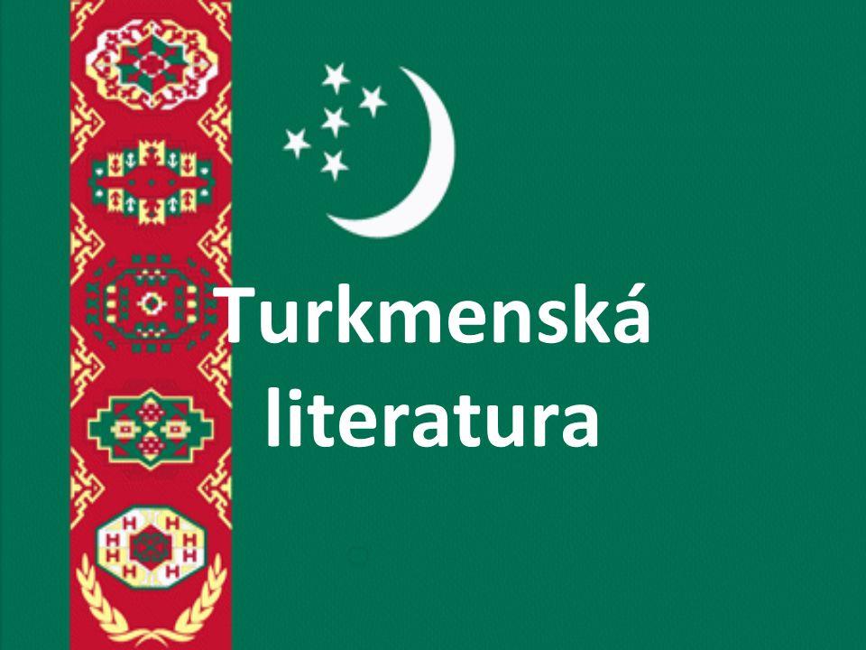 Turkmenská literatura