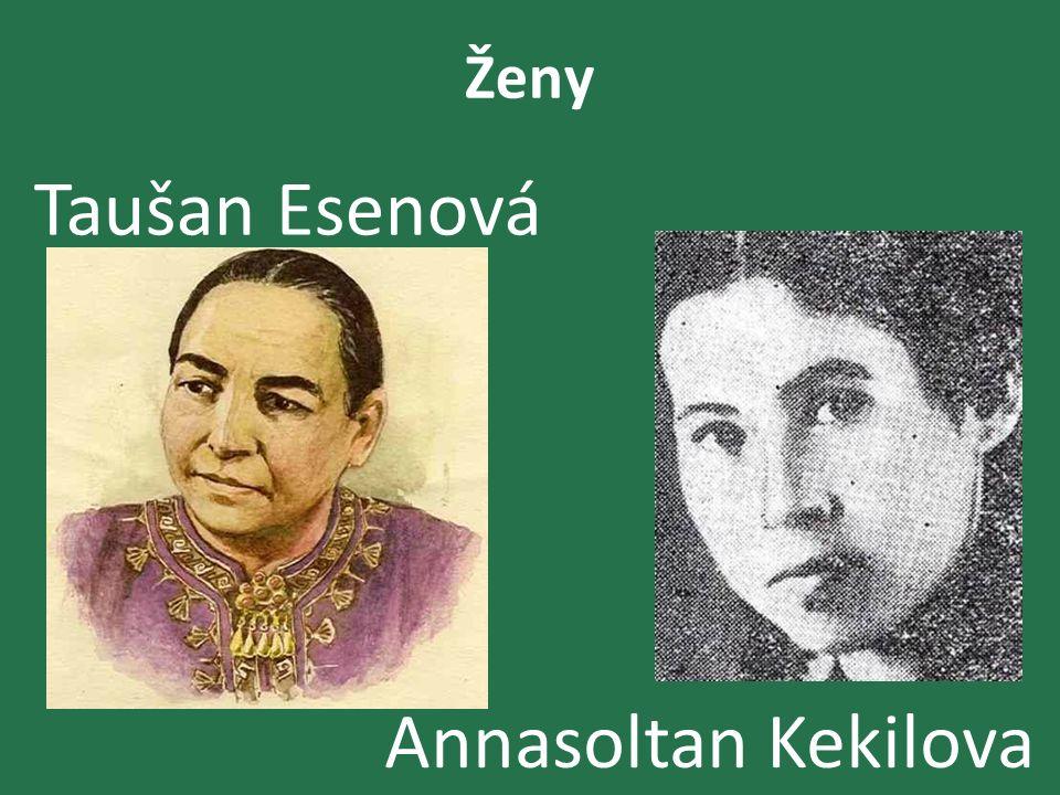 Ženy Taušan Esenová Annasoltan Kekilova