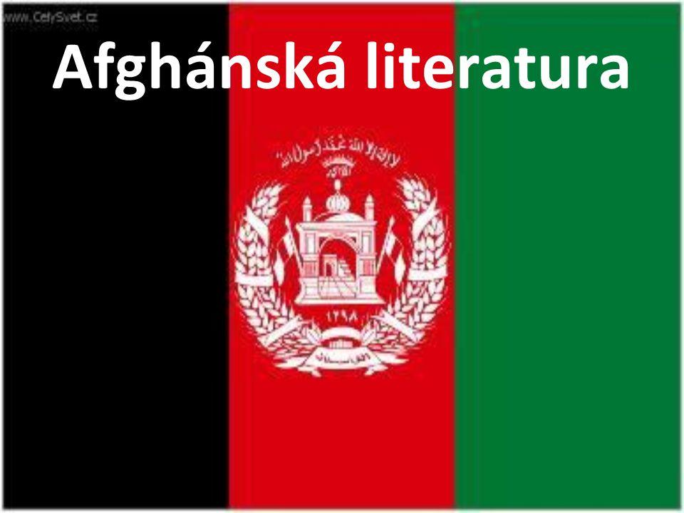 Afghánská literatura