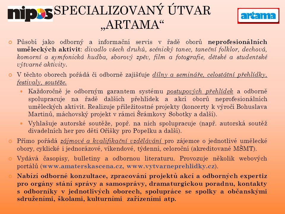 www.amaterskascena.cz www.vytvarneprehlidky.cz