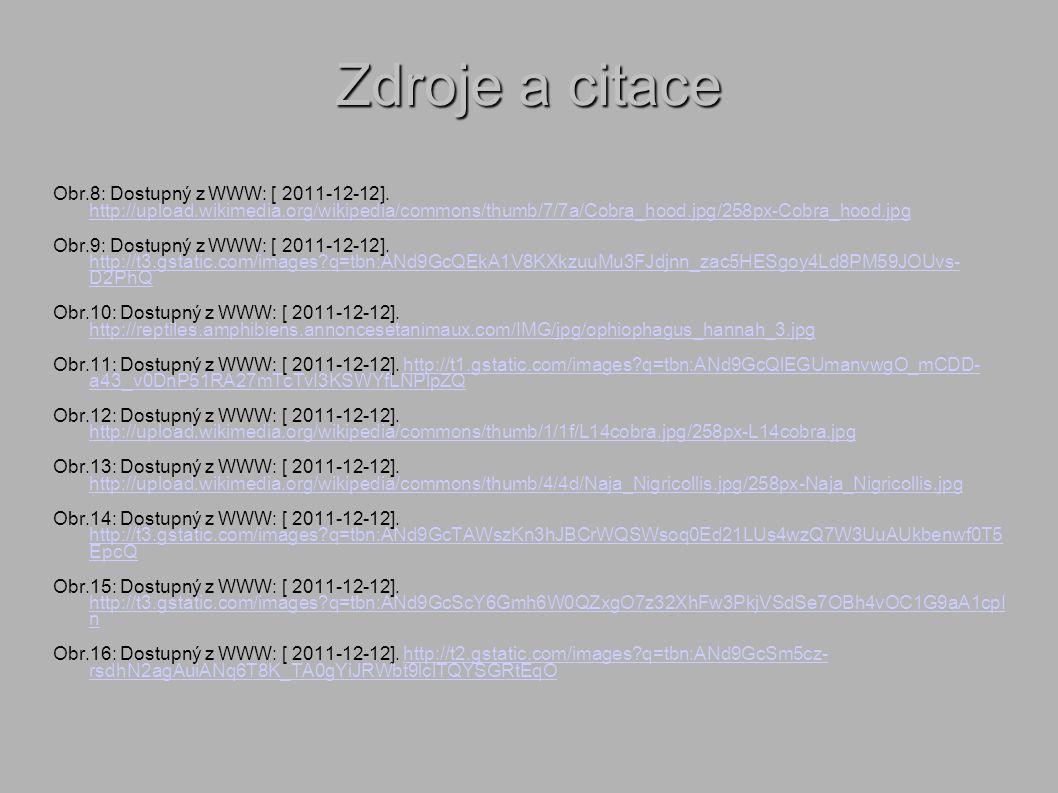 Zdroje a citace Obr.8: Dostupný z WWW: [ 2011-12-12].