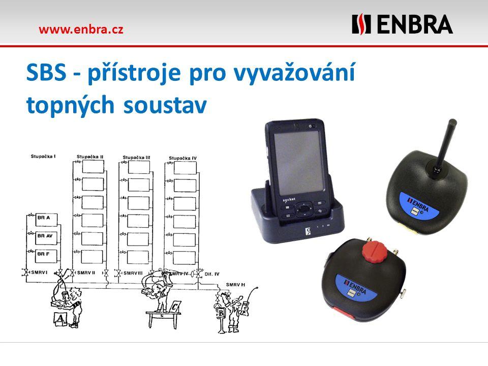 www.enbra.cz SBS - přístroje pro vyvažování topných soustav
