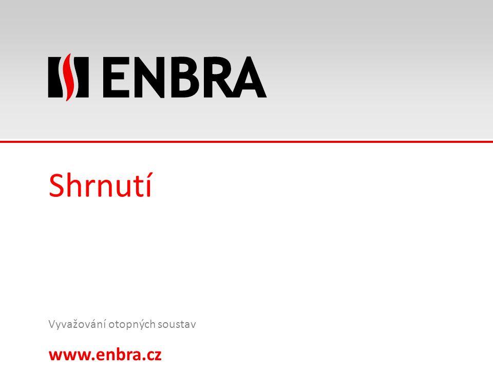 www.enbra.cz 24.9.2016 27/15 Shrnutí Vyvažování otopných soustav